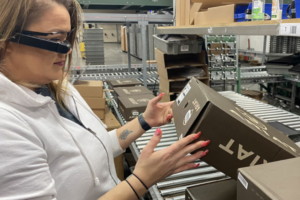 E2-Vision Smart Glasses- Hands-Free Wearable Oder Fulfillment Solution for Supply Chain Applications